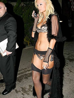 Paris Hilton naughty in very hot lingerie
