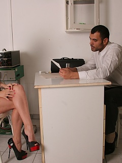 Women with all kind of inhibitions visit the doctor's office, demanding a solution to their misery. Too shy, too bitchy, too ignorant? it's time to capitalize the gift and treat these beauties.