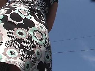 Black thong up classy dress