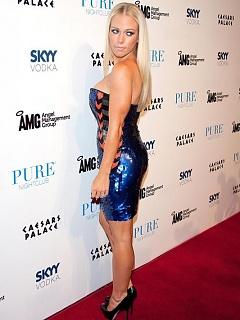 Kendra Wilkinson flaunts her breasts during her birthday bash in Las Vegas