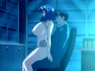 Sweet chick seduces boss in lewd hentai