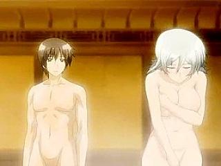 Hentai big tits whore making guy lavishly cum